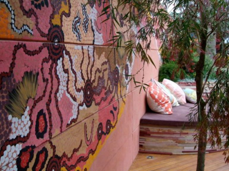 Wall Mural Patio