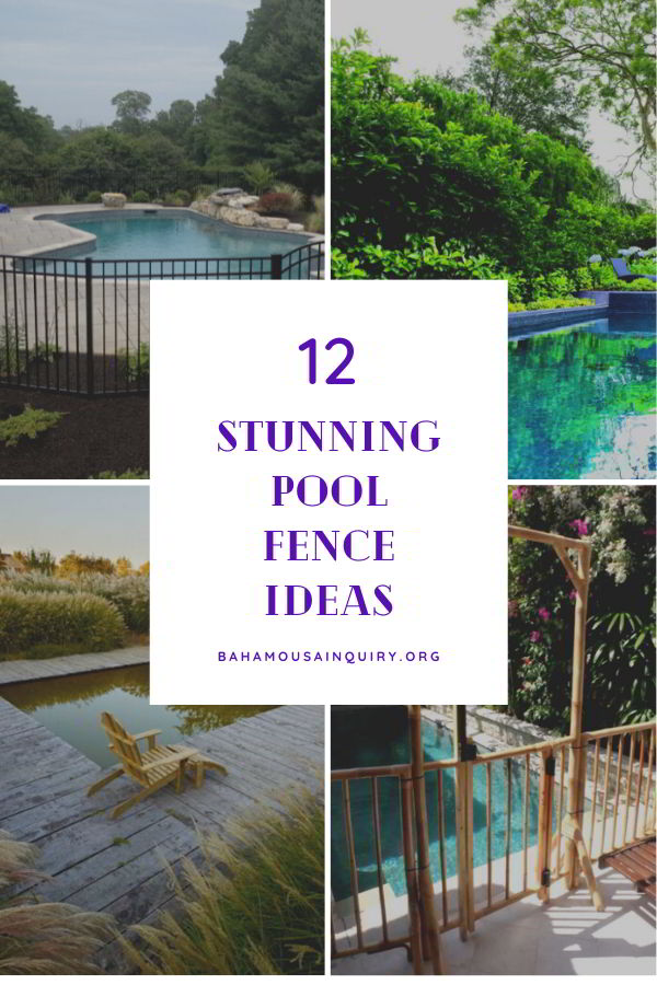 Best pool fence ideas