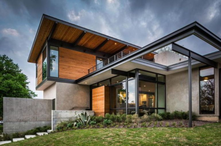 Aesthetic Hills House Model
