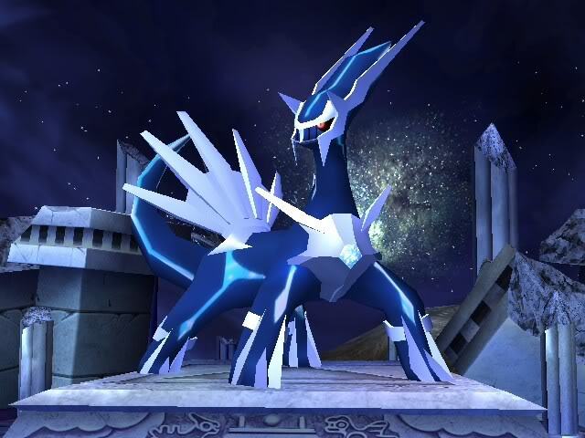 Dialga heaviest pokemon