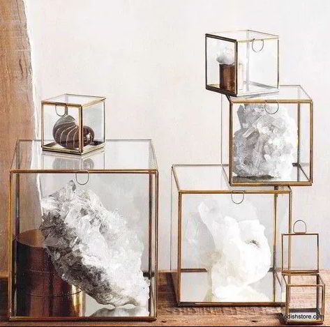 Assorted Display Cases from Plexiglass