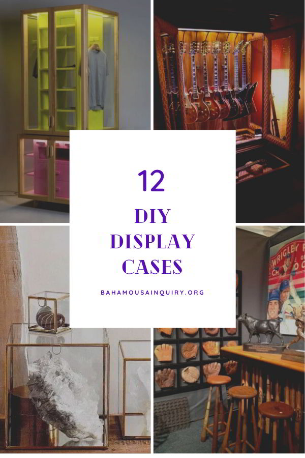 Best diy display cases