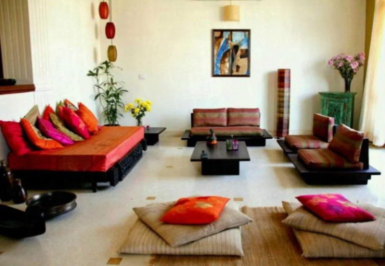 Living Room in Small Indian Homes