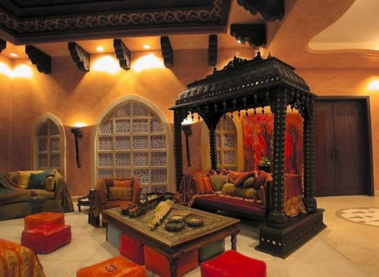 Traditional Indian Living Room