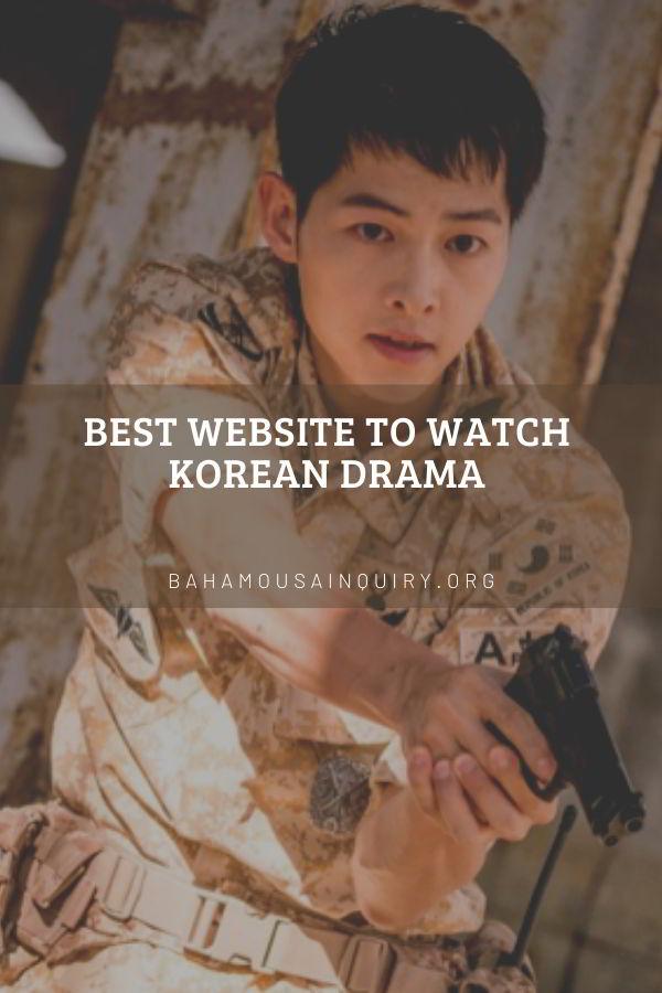 Best Website to Watch Korean Drama