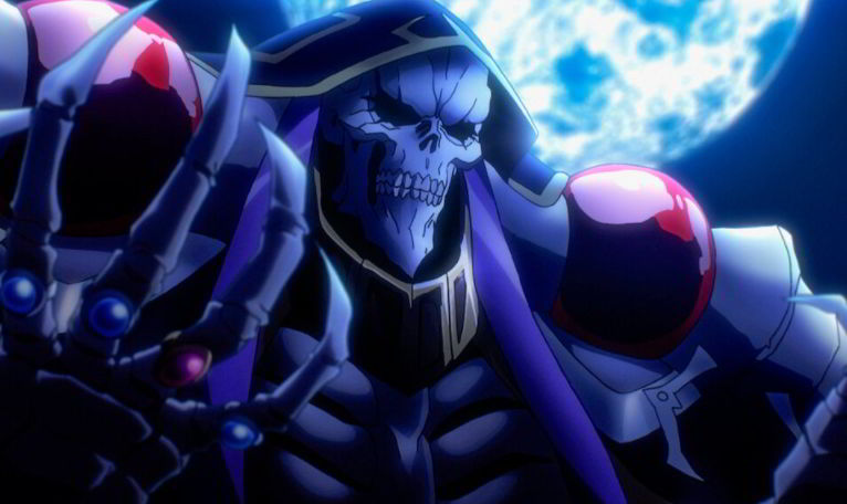 Overlord Dubbed Anime