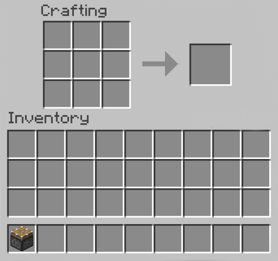 Move to Inventory on minecraft