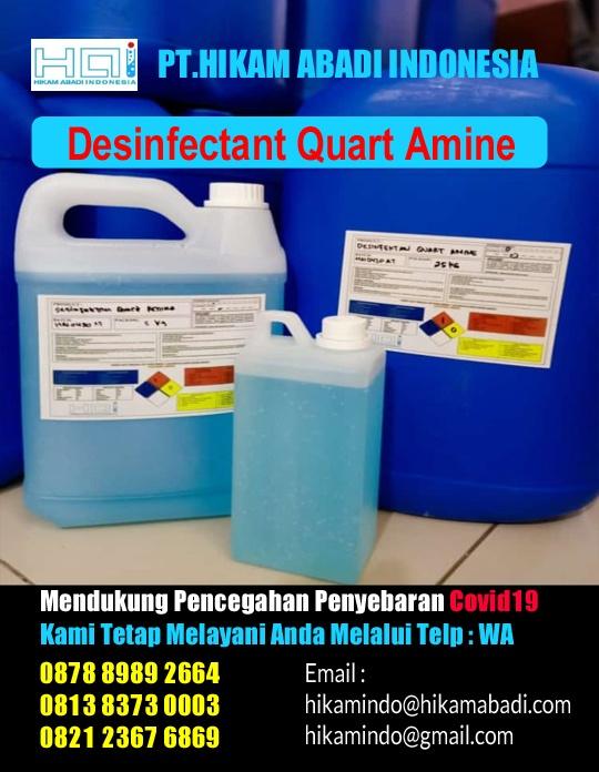 Ready Stock Desinfectant Quart Amine / Desinfektan