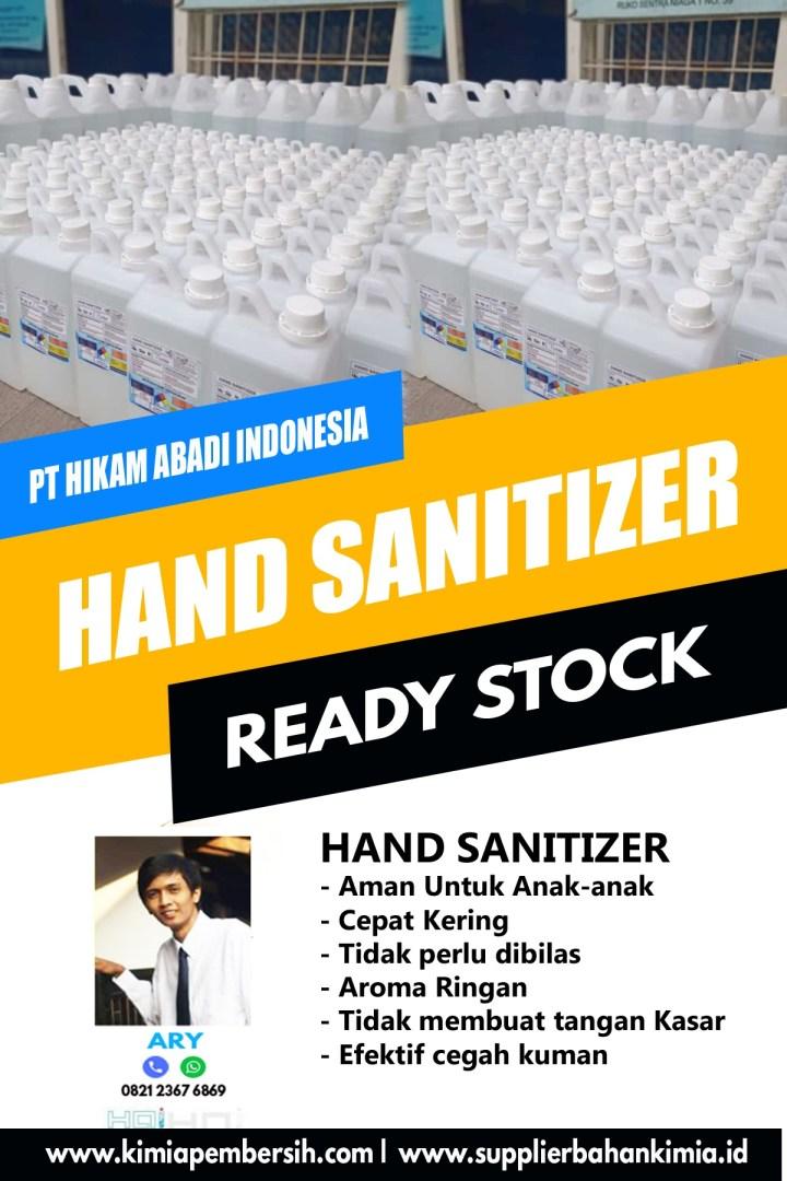 Jual Hand Sanitizer Literan Jakarta | Bekasi | Tangerang | Cikarang | Bogor