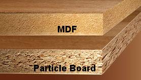 Mencegah lemari yang memiliki jamur permukaan for Particle board laminate finish
