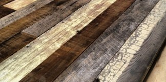 panel kayu bekas