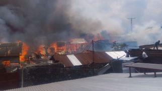 maisons brulées au quartier MABANGA SUD (2)