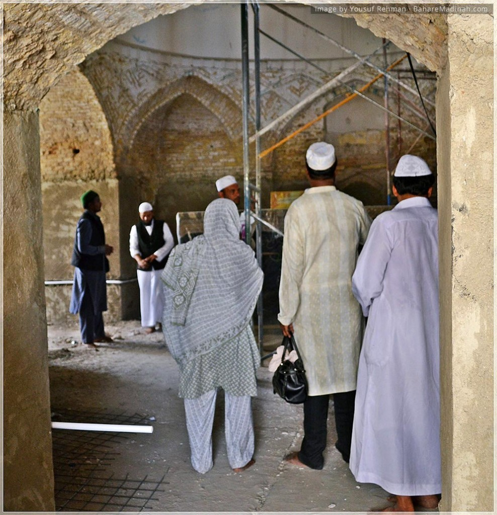 Inside the Mausoleum of Prophet Yusha ibn Nuun · Baghdad, Iraq (2013)
