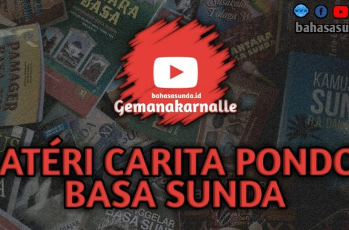 MATERI CARITA PONDOK SUNDA