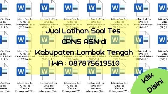Soal Tes CPNS ASN di Kabupaten Lombok Tengah