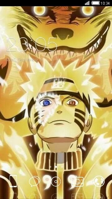 Tema Android Naruto