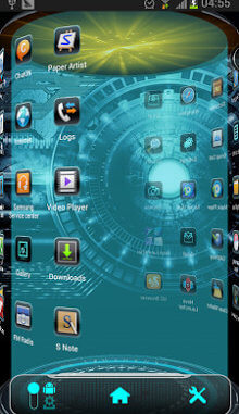 Tema Android Tech Next