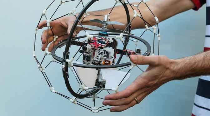 Gimball, un drone para misiones de rescate, gana un premio de u$s 1 millón