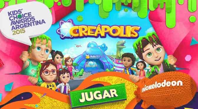 Aula365 suma contenidos de Nickelodeon y sortea entradas para premios Kids' Choice Awards