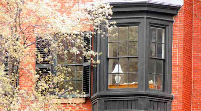 Las flores de Beacon Hill en Boston
