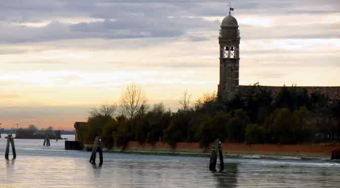 Las costas de Burano, el remanso de la laguna de Venecia