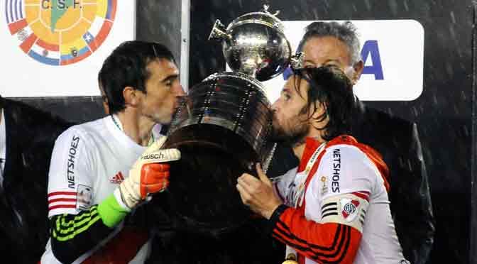 Marcelo Barovero, el mejor arquero de la Copa Libertadores 2015
