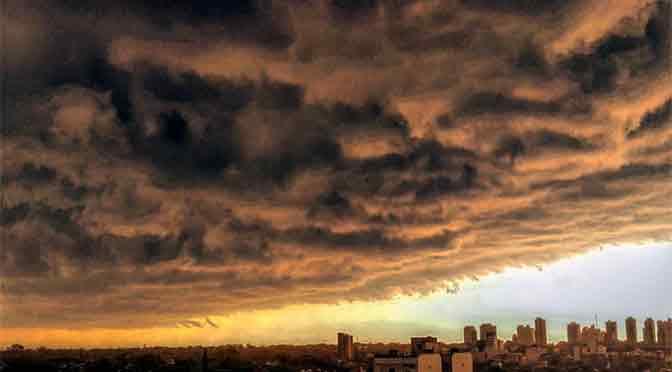 Tarde de tormenta en Olivos