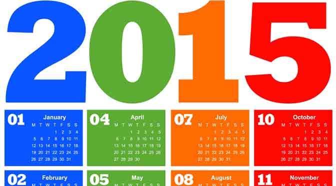 Las novedades del año viejo 2015