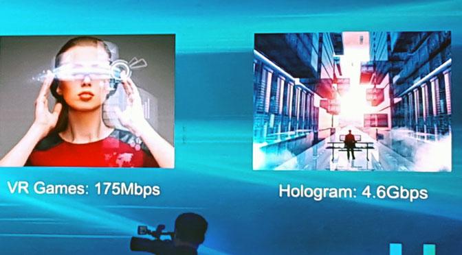 Internet soportará videos 4K, llamadas de voz HD y hasta hologramas