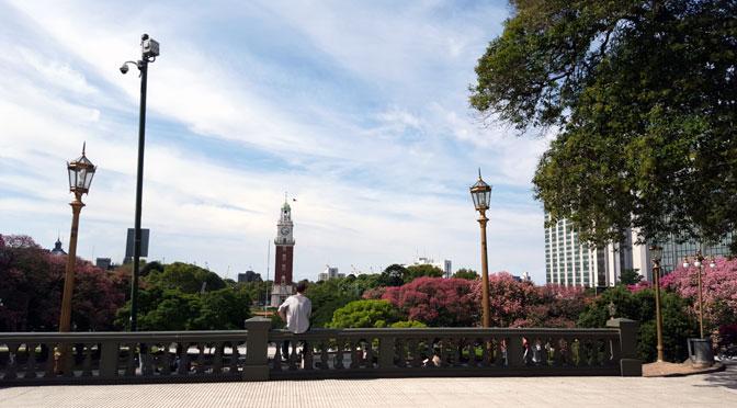 Plaza San Martín, Buenos Aires, desde un Samsung Galaxy S6 Edge