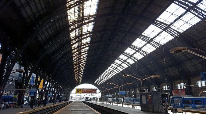Estación Retiro del tren Mitre, desde un Samsung Galaxy S6 Edge