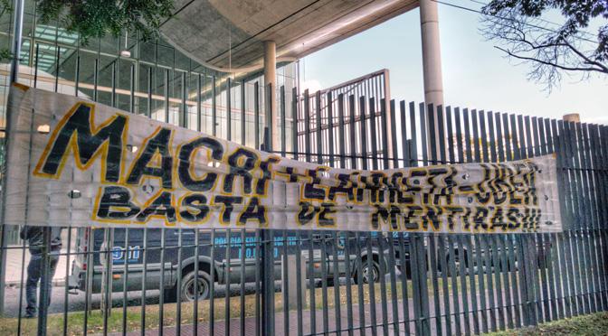 La sede del Gobierno porteño con un toque anti Uber
