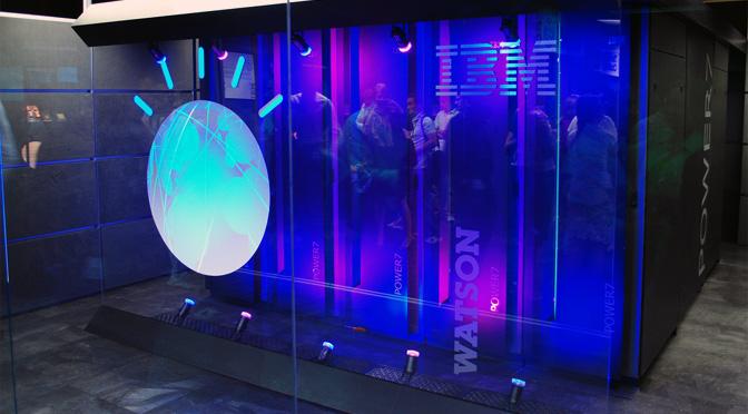 IBM apuesta por Watson en la carrera por la inteligencia cognitiva