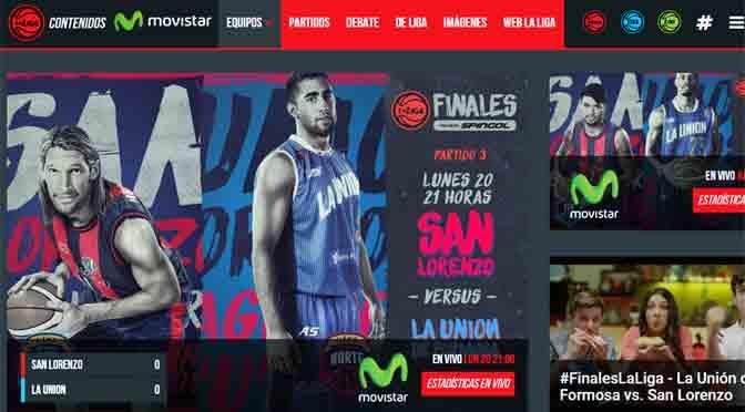 Movistar es el nuevo sponsor de la Liga Nacional de Básquetbol