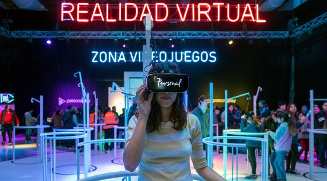 Personal abre un espacio de videojuegos y realidad virtual en Tecnópolis