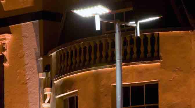 Pymes presentan una propuesta de iluminación pública y privada
