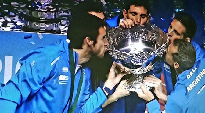 La Copa Davis, un sueño histórico y personal hecho realidad