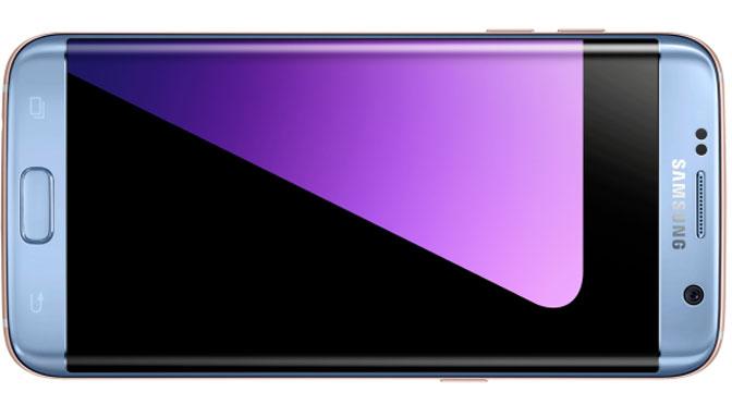 """Samsung presenta una edición limitada del S7 Edge en """"blue coral"""""""