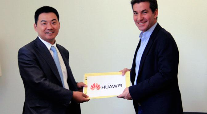 Huawei se suma al Distrito Tecnológico de Parque Patricios