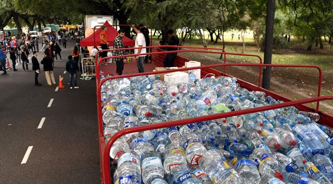 25.000 personas donan para damnificados de inundaciones en Comodoro Rivadavia