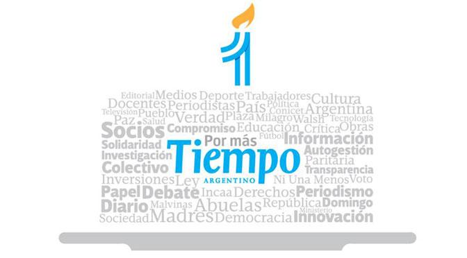 Trabajadores de Tiempo Argentino celebran el 1° año como cooperativa