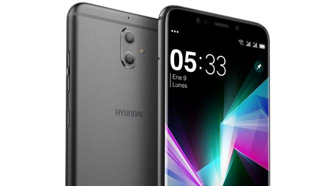 Hyundai lanza un teléfono móvil con doble cámara trasera
