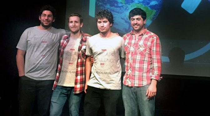 Estudiantes argentinos crean una aplicación en 48 horas y son premiados por la NASA