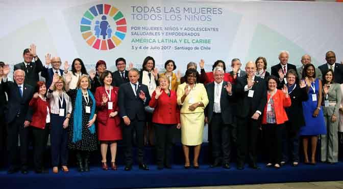 Países de América buscan poner fin a mortalidad prevenible de mujeres, niños y adolescentes