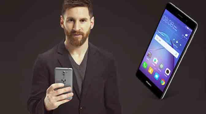 Personal presenta el Huawei Mate 9 Lite de Messi