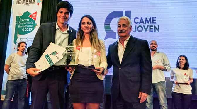 """Empresaria láctea de Tandil ganó el premio """"Joven empresario bonaerense 2017"""""""