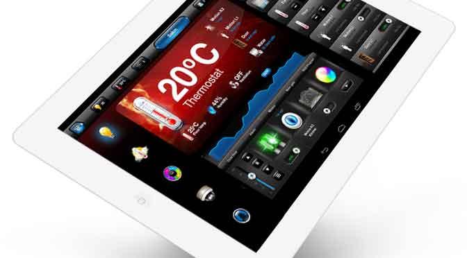¿Cómo se maneja un hogar desde un móvil o una tableta?