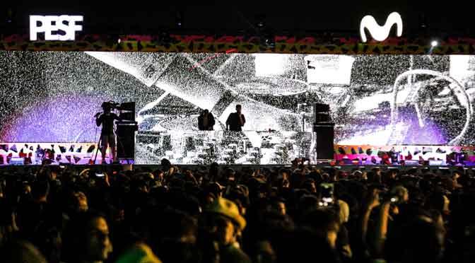 Más de 15.000 personas en un festival de Movistar en Punta del Este