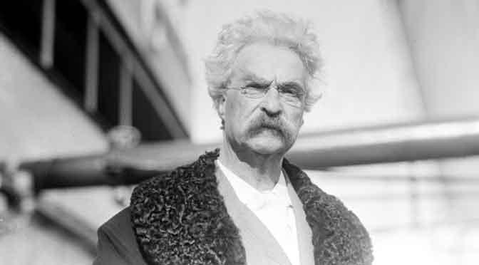Mark Twain, uno de mis guías literarios