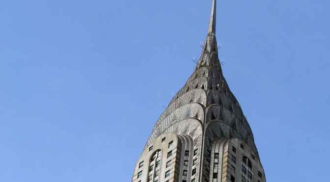 El Edificio Chrysler, el rascacielos más bello de New York